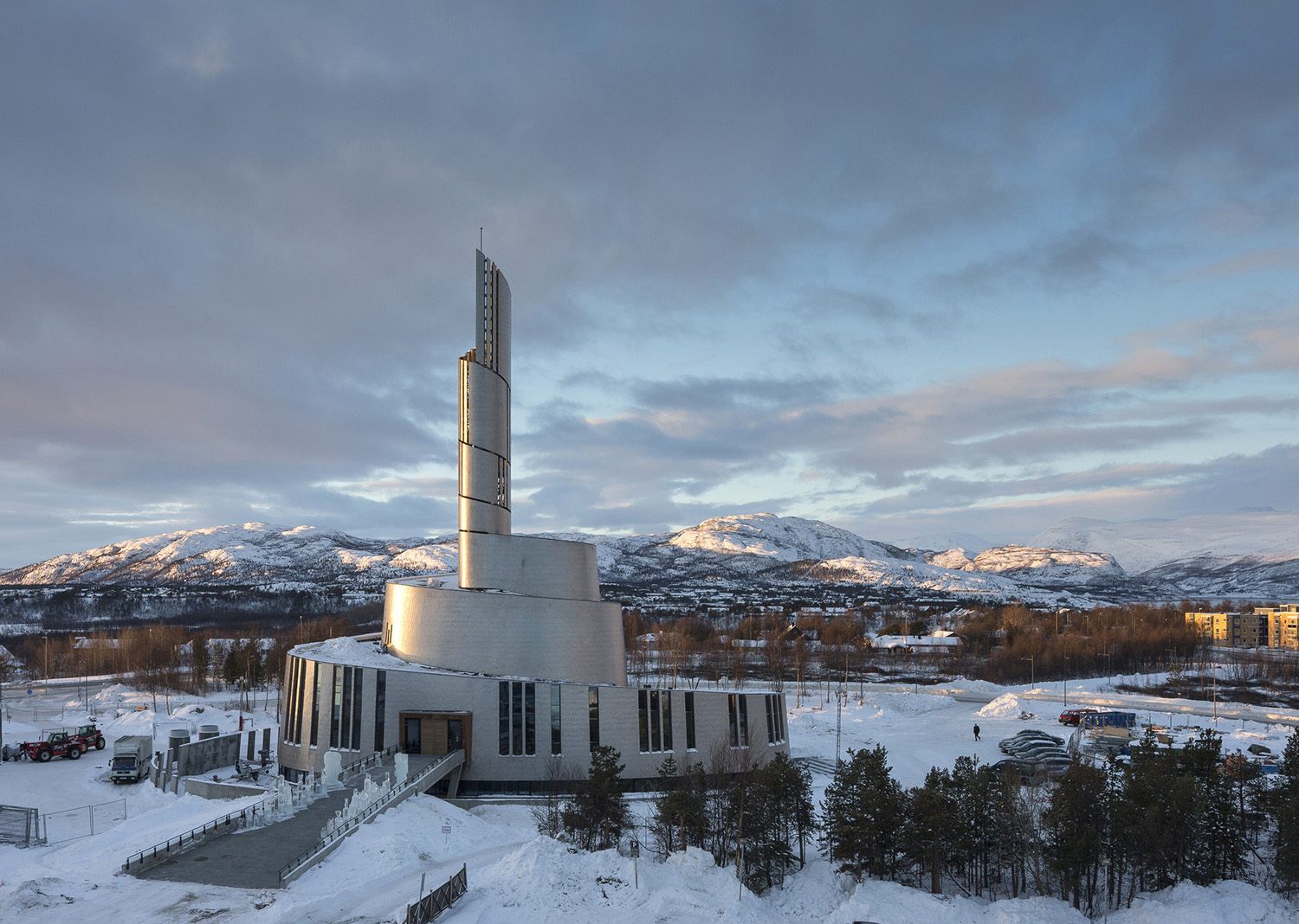 The New Cathedral of the Northern Light schmidt hammer lassen archittects Photo 004